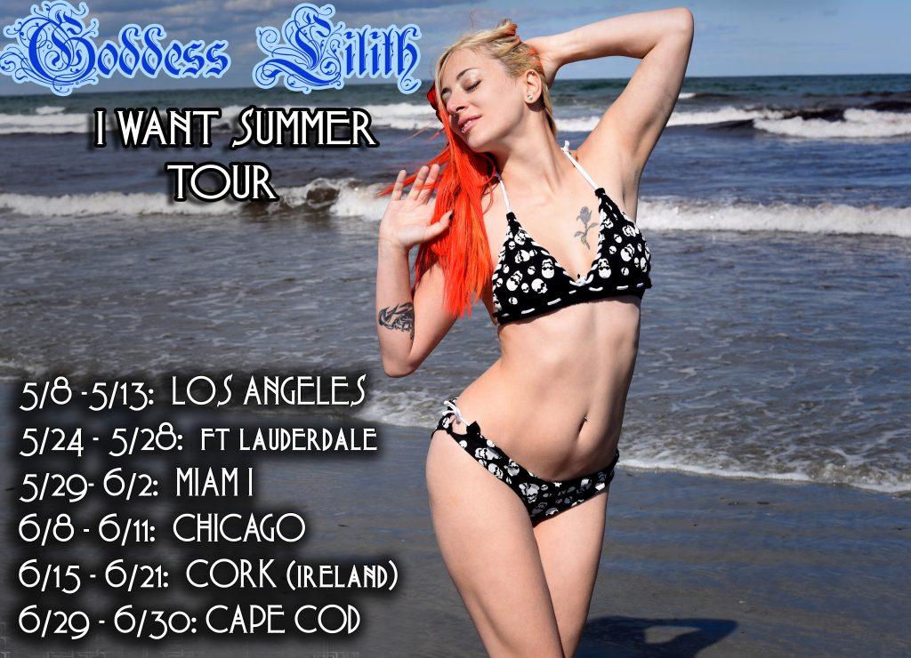 Goddess Lilith Summer Tour